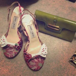 Jimmy Choo butterfly heels